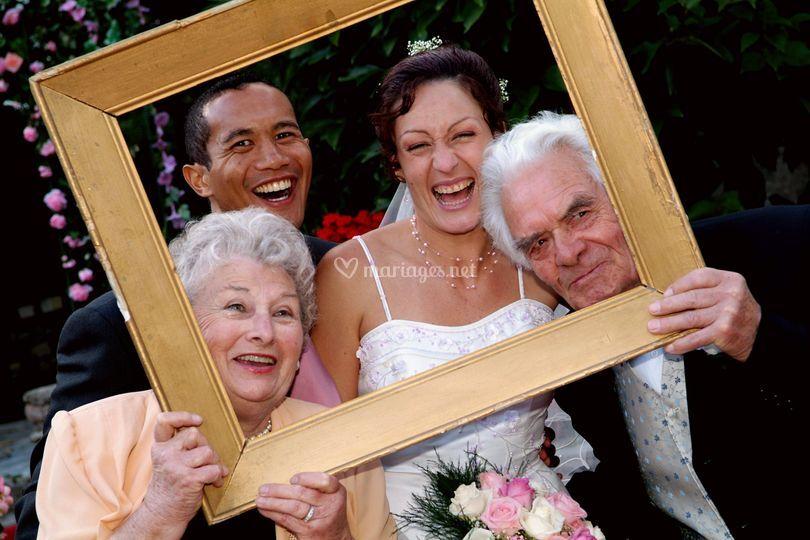Photo famille mariage ValérieM