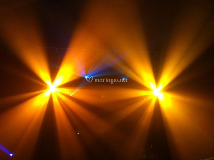 Éclairage disco