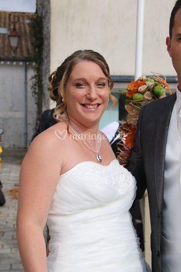 Mariée en 2015