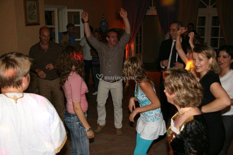 Jeux dansants