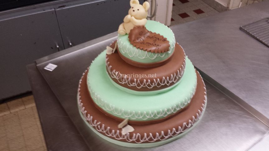 Wedding Cake Baptème
