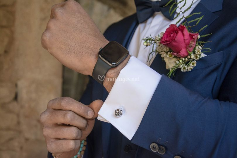 Accessoires de marié