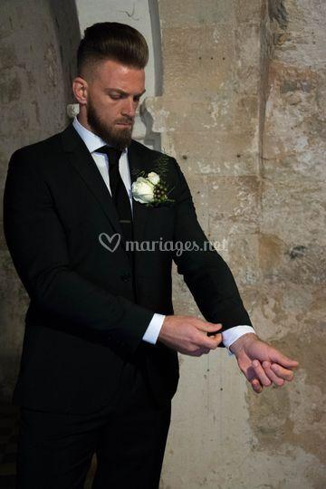 Costume de mariage Hugo Boss