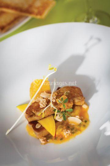 Foie gras exotique