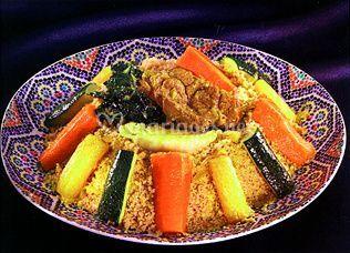 Couscous légumes & boeuf