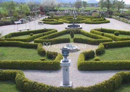 Ch teau d 39 avully - Jardin a l italienne ...