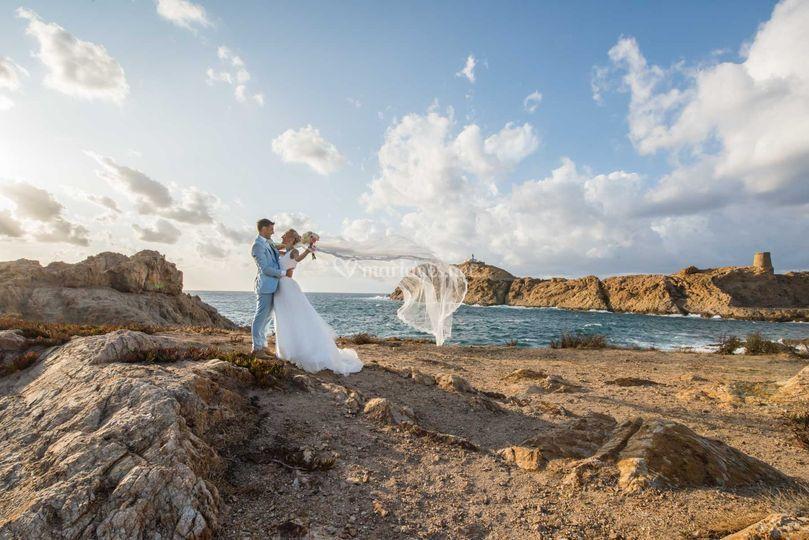 Photo de couple à Île Rousee