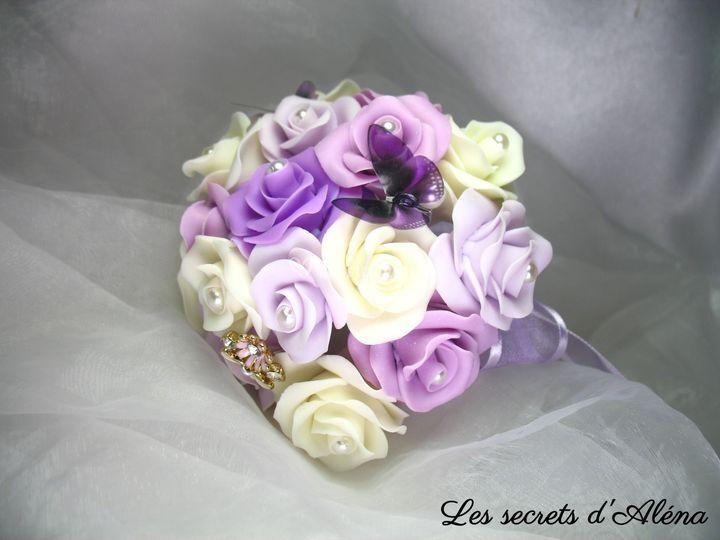 Bouquet éternel Mariée