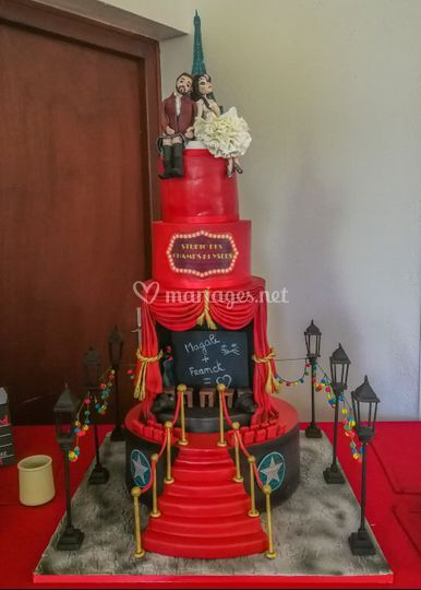 Wedding cake théatre/Paris