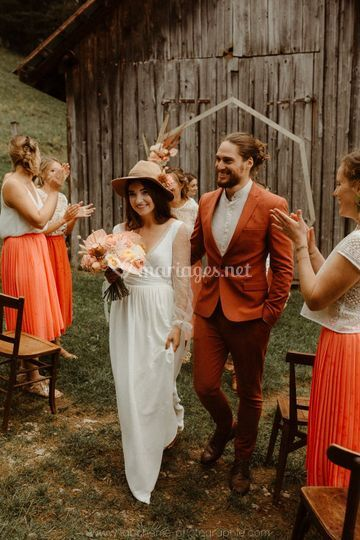 Intimist wedding in the Alps