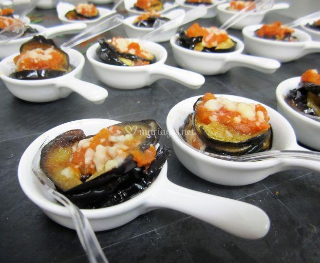 Aubergine Parmesane