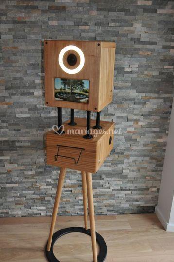 Photobooth en bois