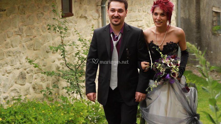 L'arrivée des mariées