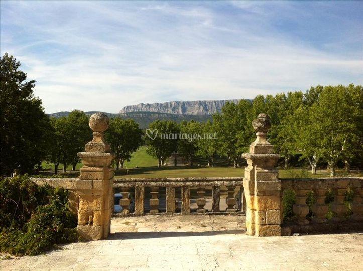 Panorama Face à la Sainte Victoire