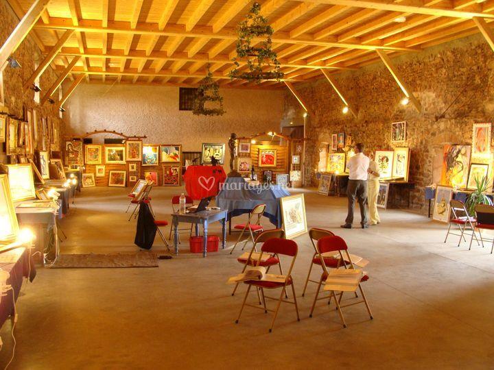 Salle pour exposition
