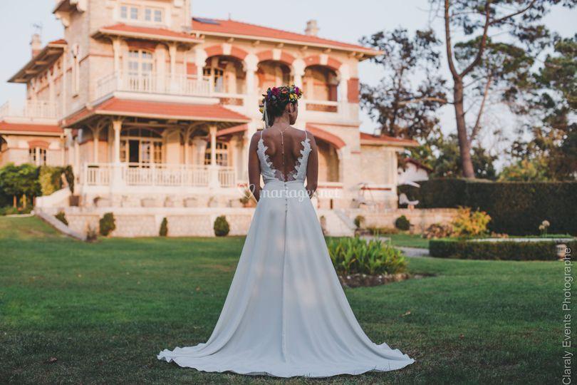 Mariage à la villa