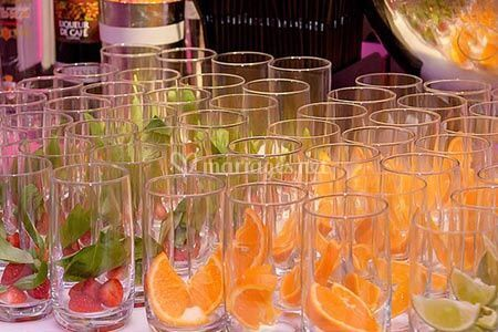 Cocktails fruits frais