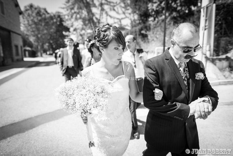 Photo mariage avant la mairie