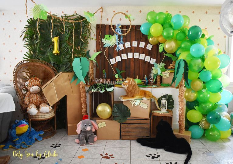 Birthday jungle