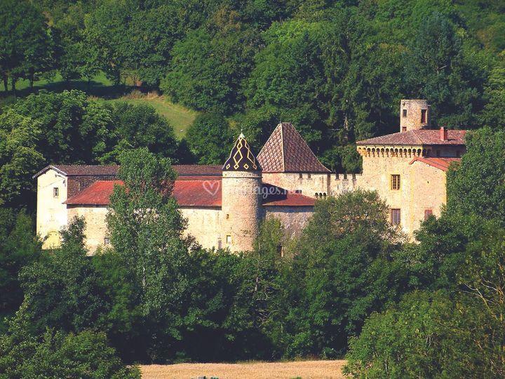 Château de Courbeville, Rhône