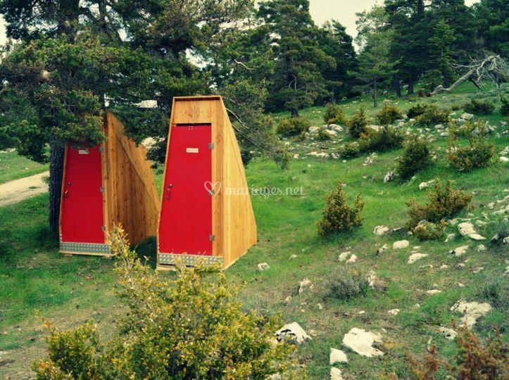 Toilettes gamme color
