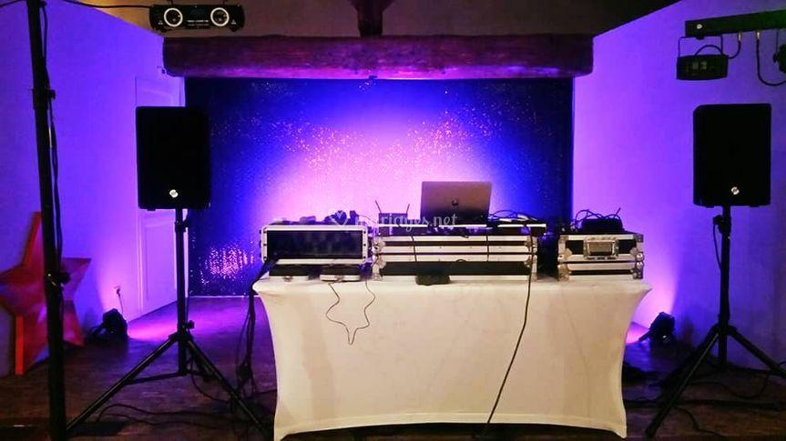 Mise en place DJ
