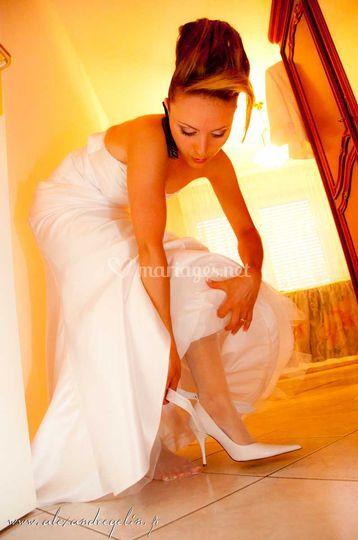 Mariage - préparatifs mariée