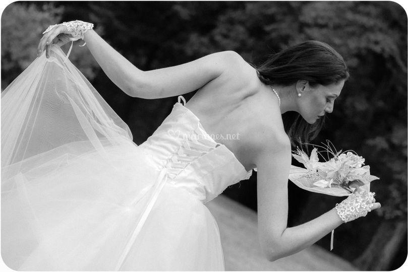 Shooting photo mariés