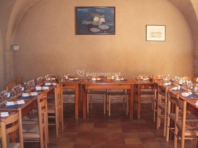 Organisation des tables du restaurant