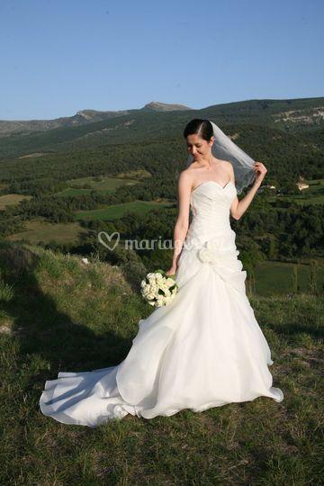 La mariée radieuse