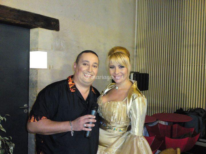 Carlos O'Connors avec Boyana