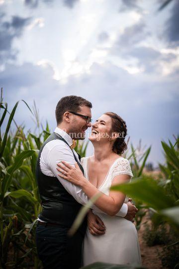 Mariage à Boisemont, Eure