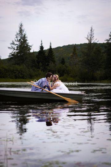 Photos couple lac Val d'Oise