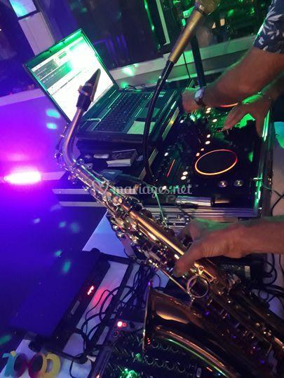 Joosax et DJ