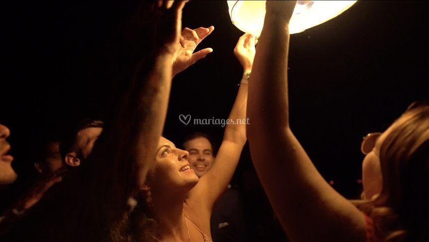 Lâcher de lanternes (juin 2019