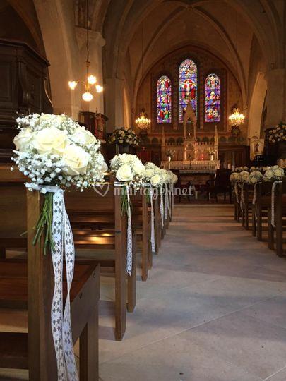 Bouquet banc