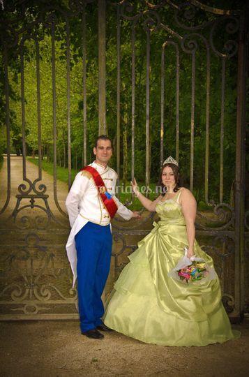 Tiana et Naveen Wedding