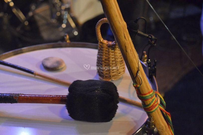 Les percussions de Guillaume
