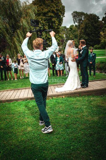 Tournage mariage