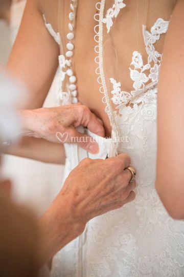Préparatif de la mariés