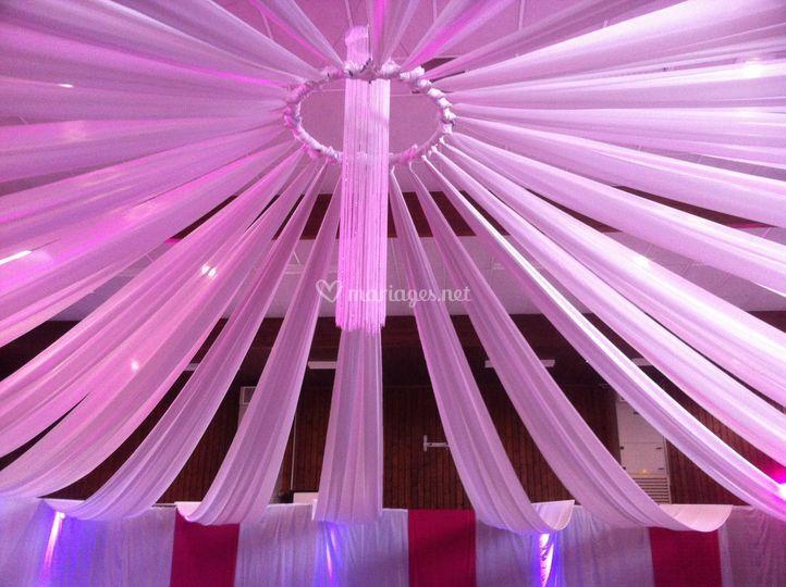 Plafond drapé