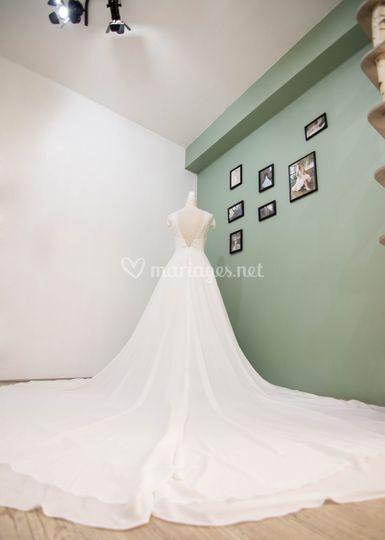 Robe de mariee bohème