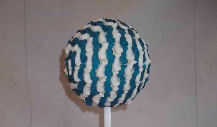 Arbre dauphin bleu et blanc