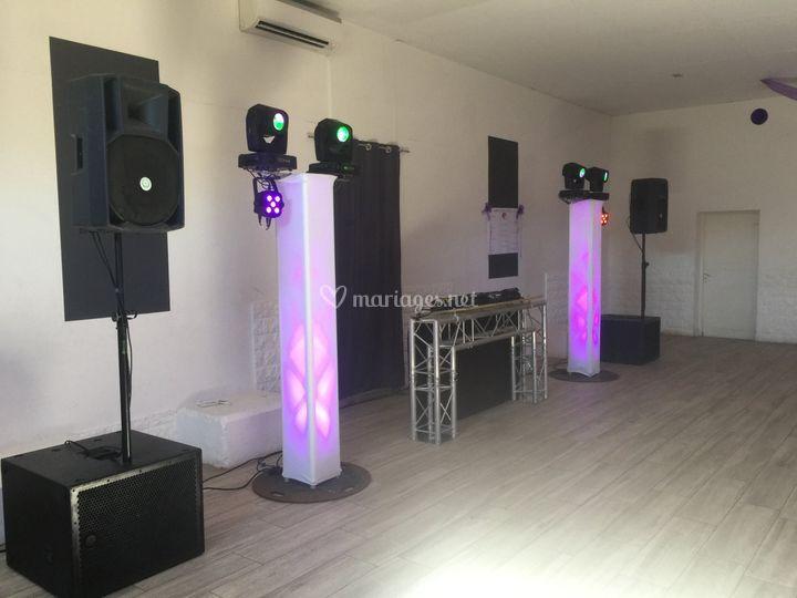 Pack sonorisation + presta DJ