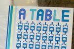 Plan de table cartes à gratter