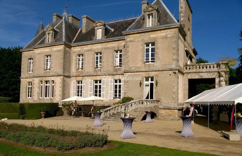 Mariage romantique château