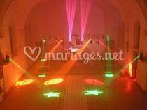 Lasers de couleurs