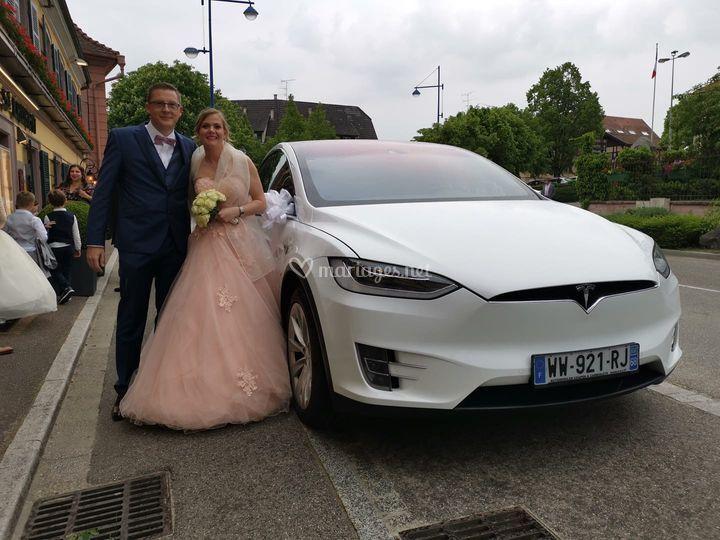 Mariage Tesla Model X