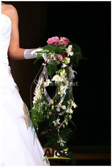 Bouquet tendance Aloé Fleurs