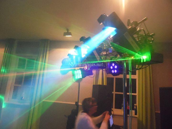 Sonorisation lumiere